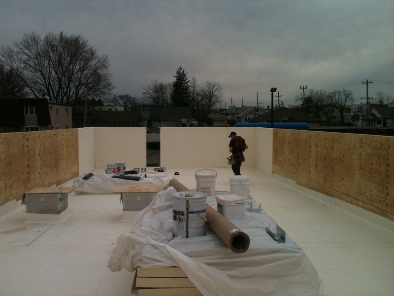 Epdm Rubber Roofing Franco Roofing Newtown Pa